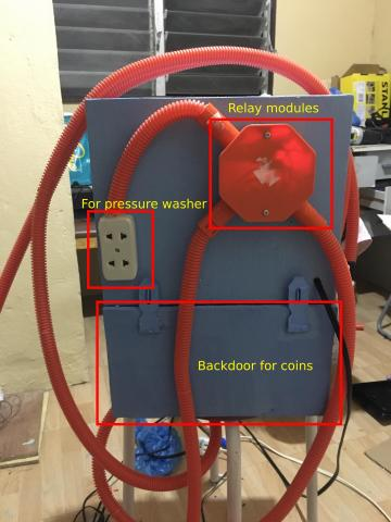 Coin Operated Car Wash 2in1 Two In One Water And
